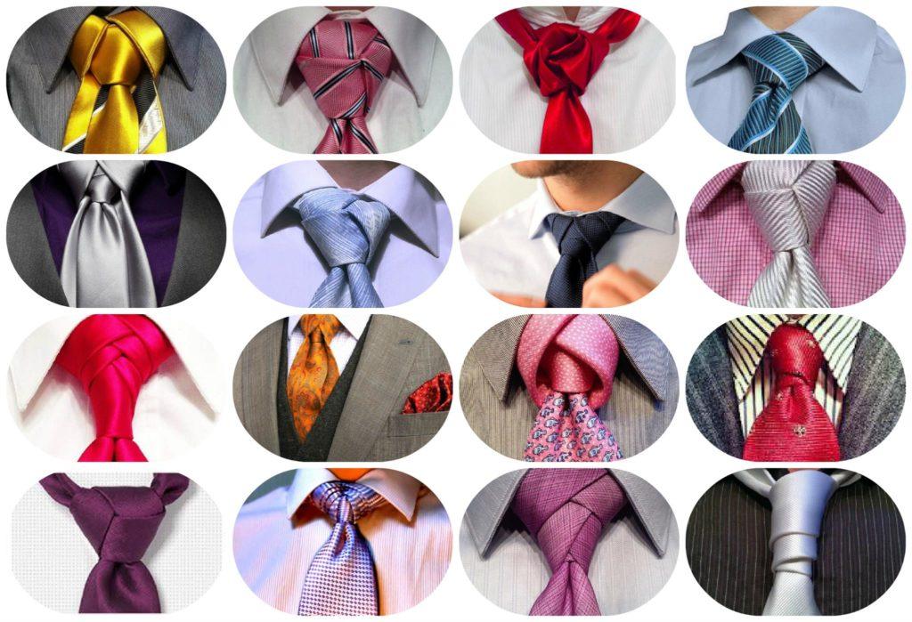 Узлы для галстука