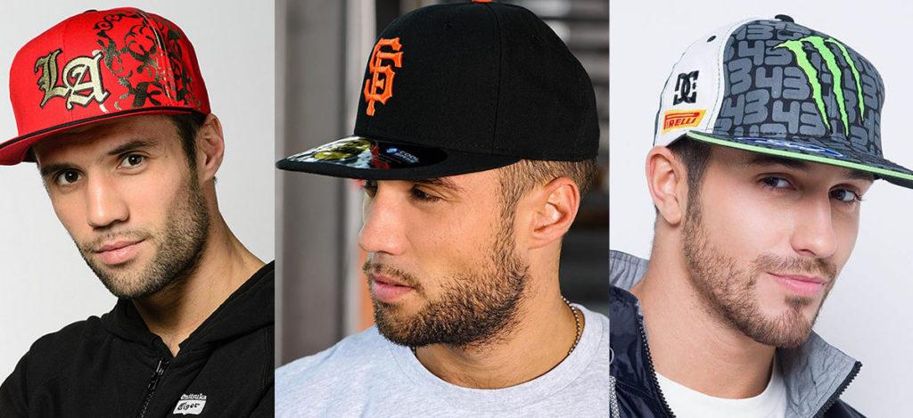 Спортивные мужские кепки