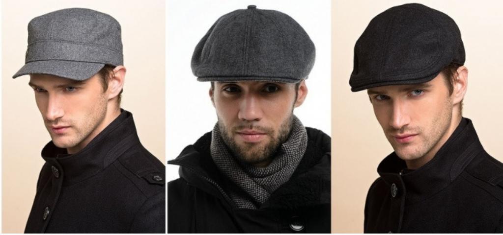 Мужчины в кепках
